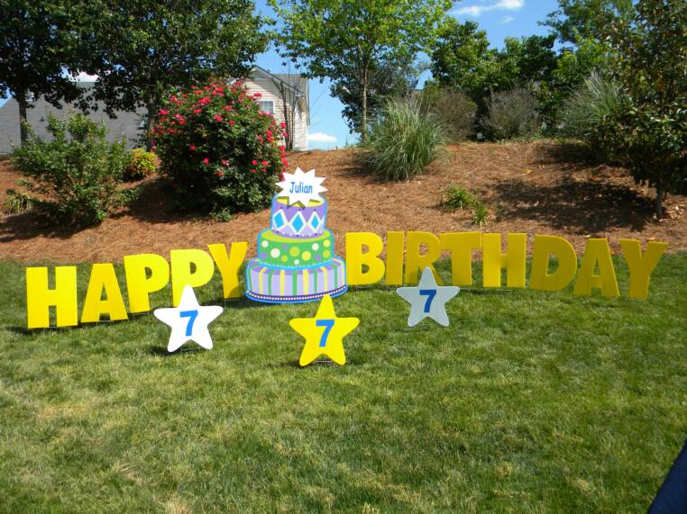 adorable 4 feet tall cake will be a huge surprise package includes happy birthday