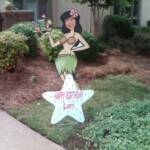 Welcome your summer party guests with a custom life size hula cocktail lady featuring your face!  Or surprise someone special on her birthday!!!